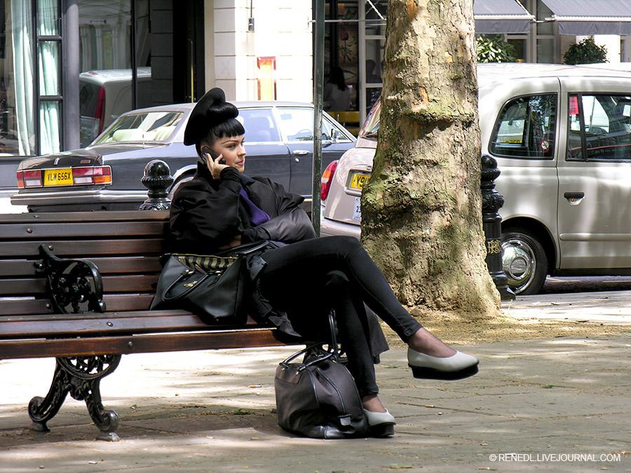 London Sloan Square street fashion Renedl 1