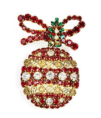 christmas ball weiss