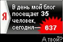 637 - посещаемость