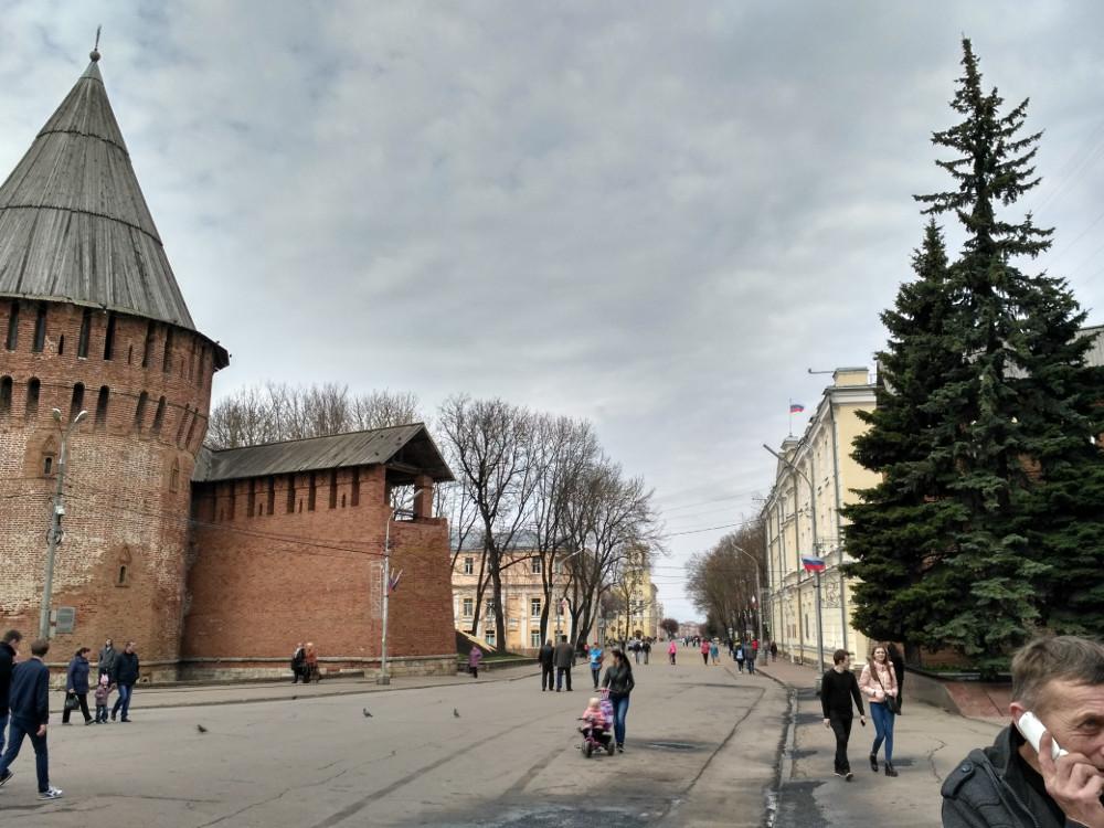 Самая интересная пешеходная зона Смоленска