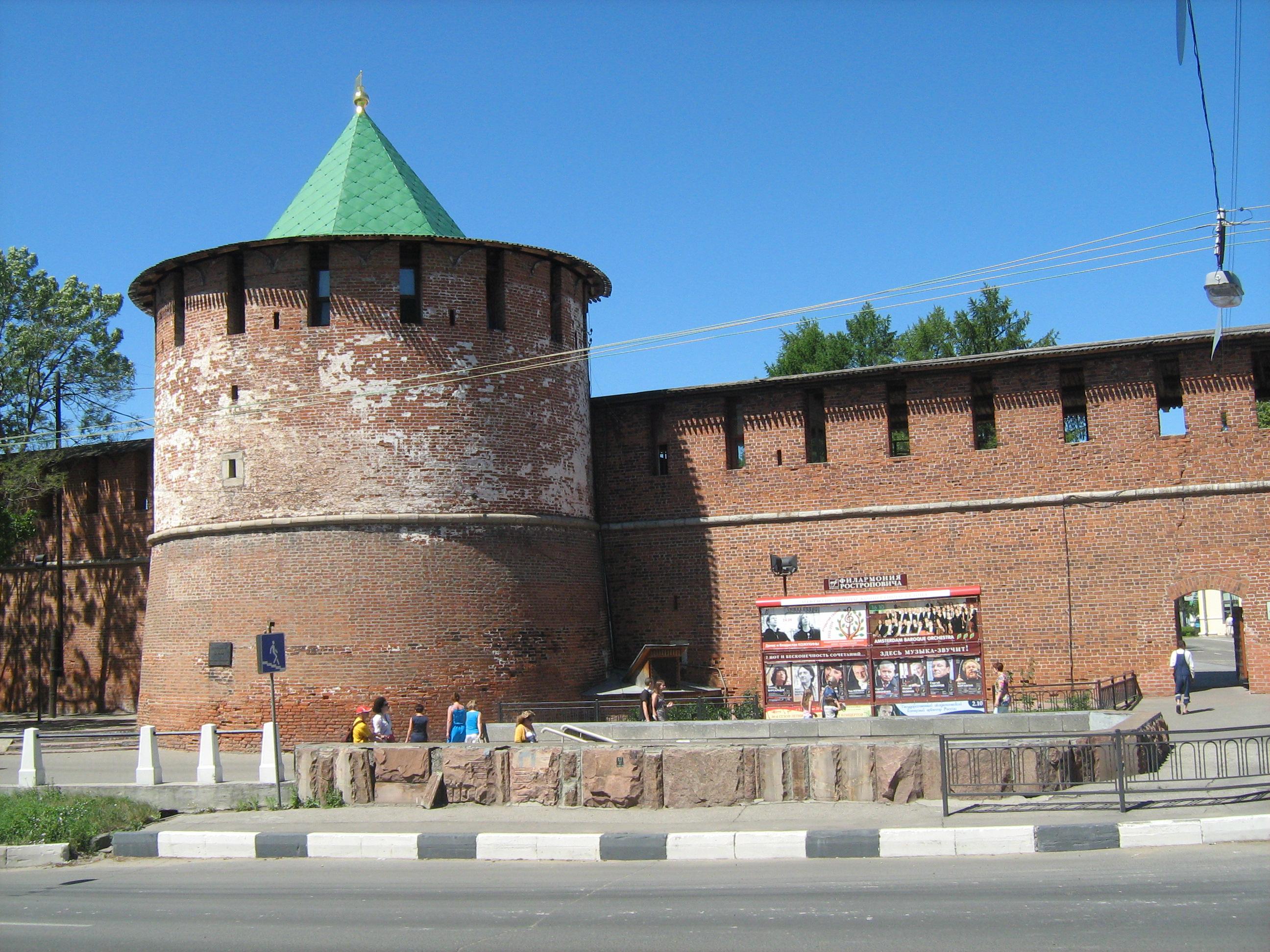 Кладовая башня Нижегородского кремля
