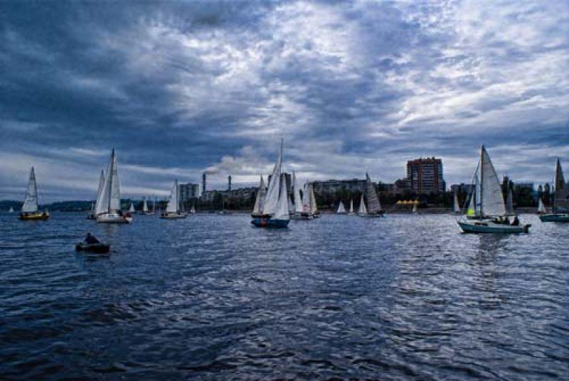 Лодочников, рыбаков и яхтсменов в Светловодске, как в любом приморском городе – минимум половина населения (фото с сайта redsearch.org)