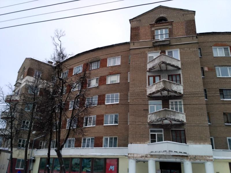 «Дом-подкова». Построен в 1933-1934 гг. для работников Ивановского ОГПУ, служивших недалеко, в «Доме –пуле»