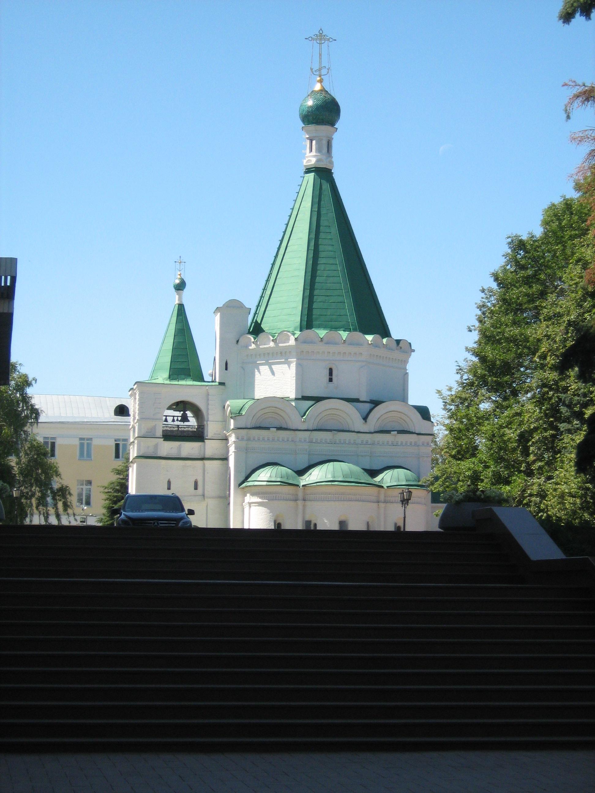 Архангельский собор (вид с площадки у Вечного огня)