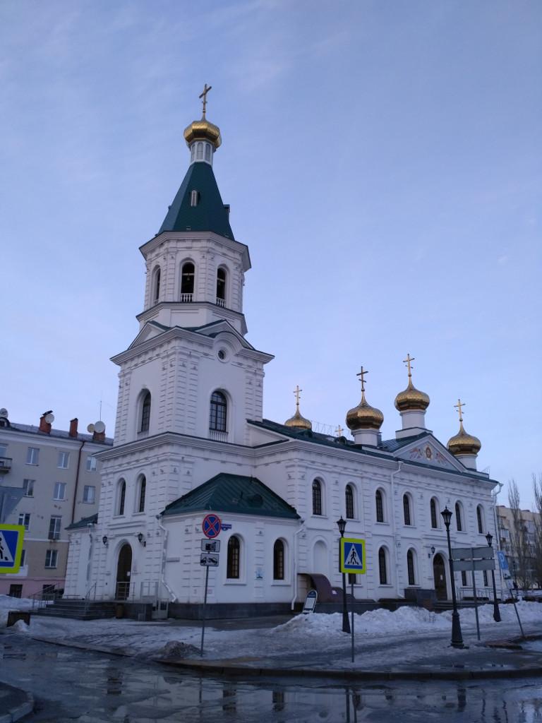 Воскресенский собор просуществовал с 1773 по 1958 год, когда был окончательно уничтожен советской властью. И восстановлен в 2016 г., к трехсотлетнему юбилею города
