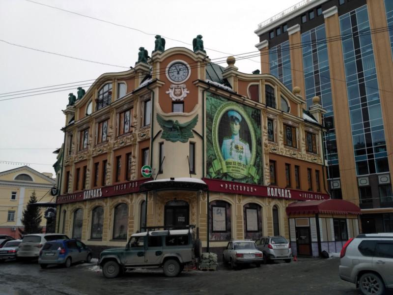 """Один из лучших городских ресторанов """"Колчакъ"""" (2007 г.). Был. Пиво пил, по усам текло, но в рот тоже немало попало. Понравилось, рекомендую"""