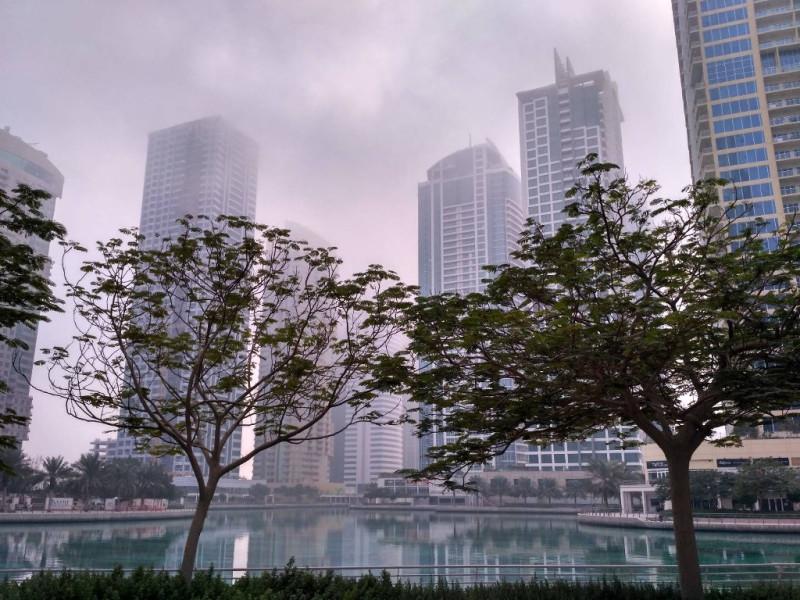 С ноября по март-апрель можно наблюдать туманы, а иногда и дожди (говорят, за этот апрель уже пять или шесть раз шел дождь!)