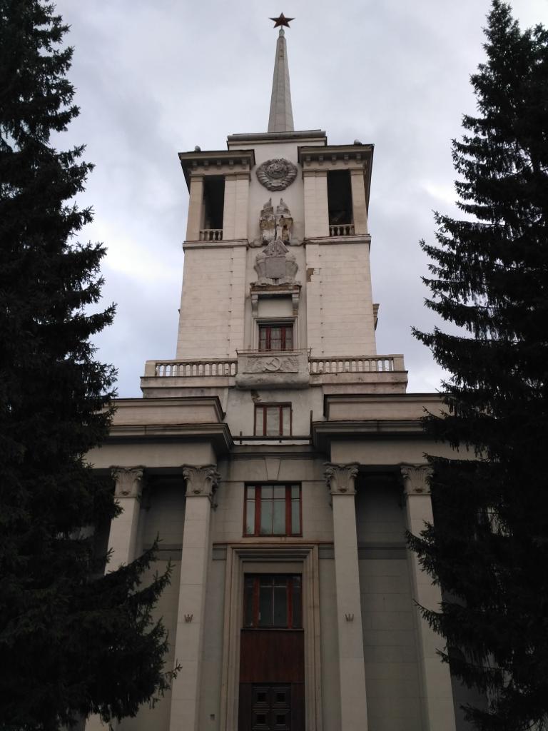 Классический Дом Красной Армии строили почти 10 лет и закончили только в 1941году