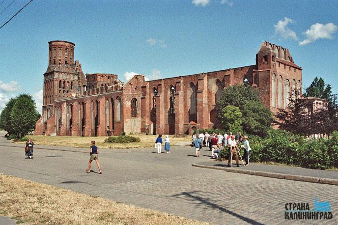 Вот так собор выглядел ещё в начале 80-х. Фото с сайта strana39.ru