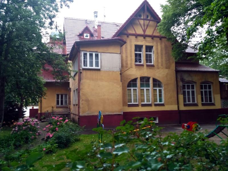 Амалиенау. Немецкие архитекторы начала XX века очень уважали сельский стиль