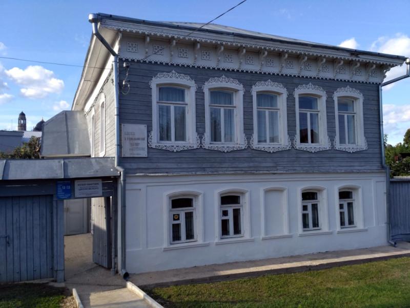 Дом-музей Циолковского в Боровске