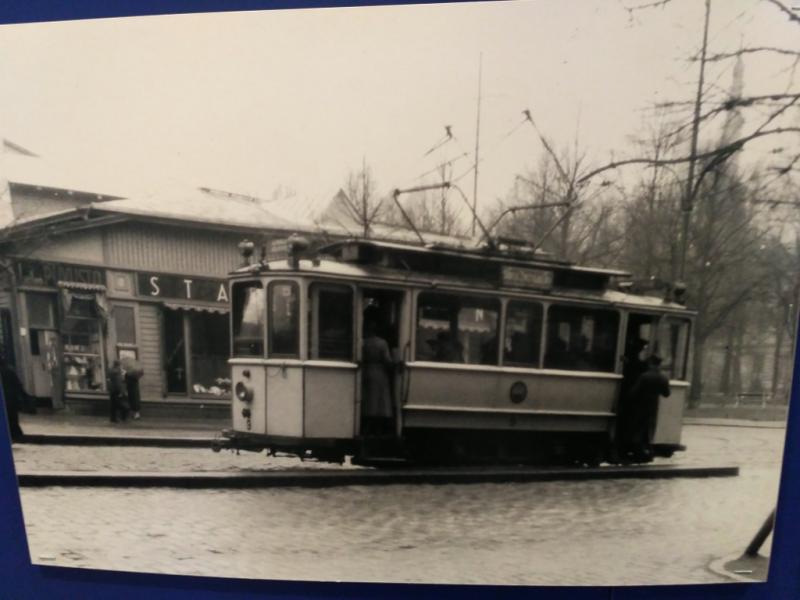 """Выборгский трамвай. Фото из """"финского"""" зала"""