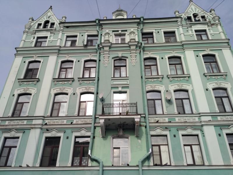 Дом ювелира Вильгельма Партона (1902 г.). Дом, конечно, всегда был жилой. Лавка занимала, как и положено, первый этаж