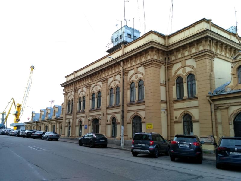 Здание управления морского порта Выборга (1899 г.)