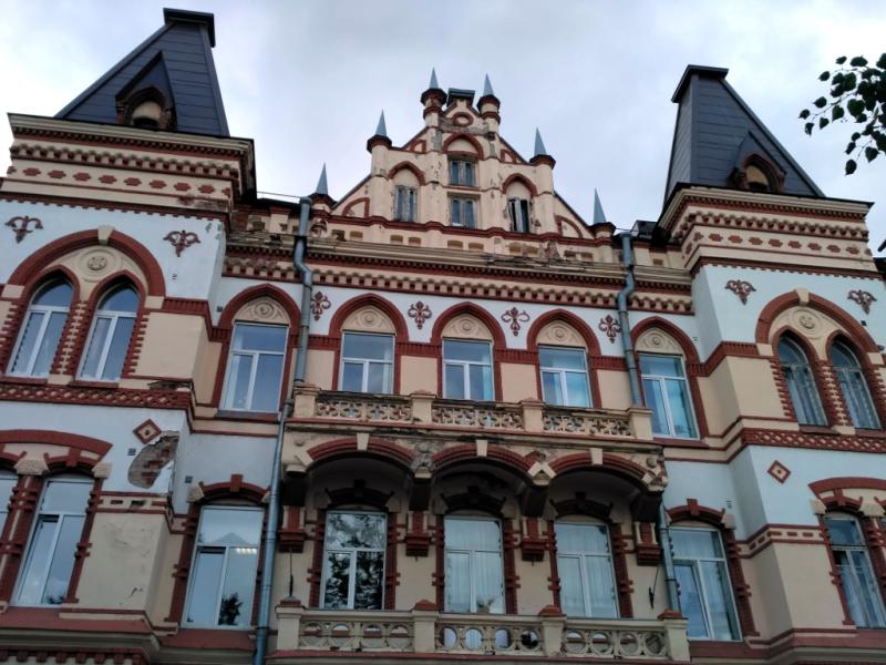 Красивейший дом Дагермана (1897 г.) – сегодня Педагогический колледж