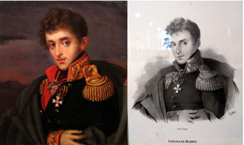 …и генерала Тучкова.