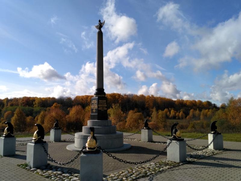 Памятник кирасирам 2-й кирасирской дивизии генерала И. М. Дуки
