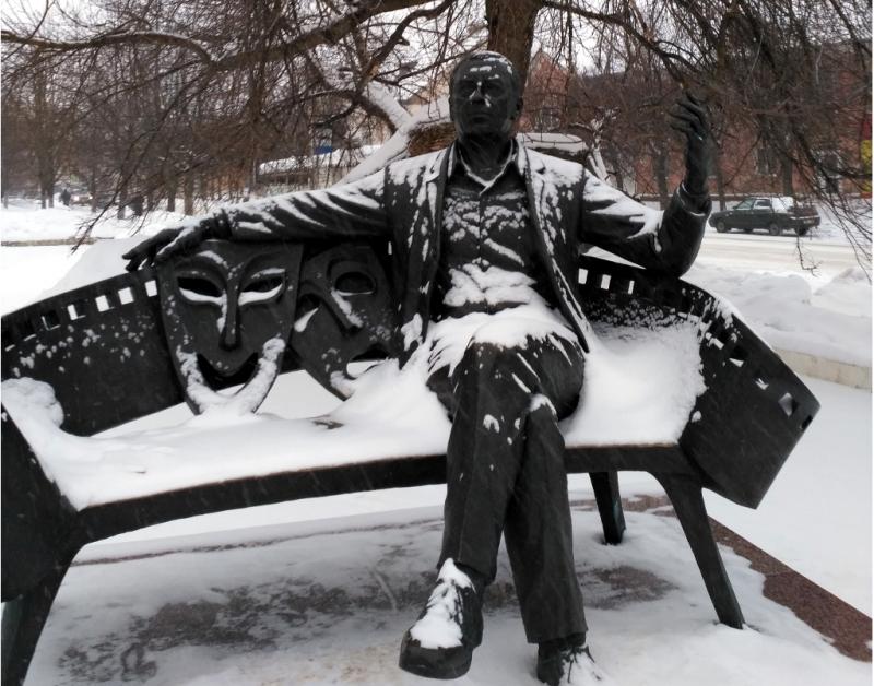 Вязьма. Ну а кто же был Анатолий Папанов, как не Артист с большой буквы?
