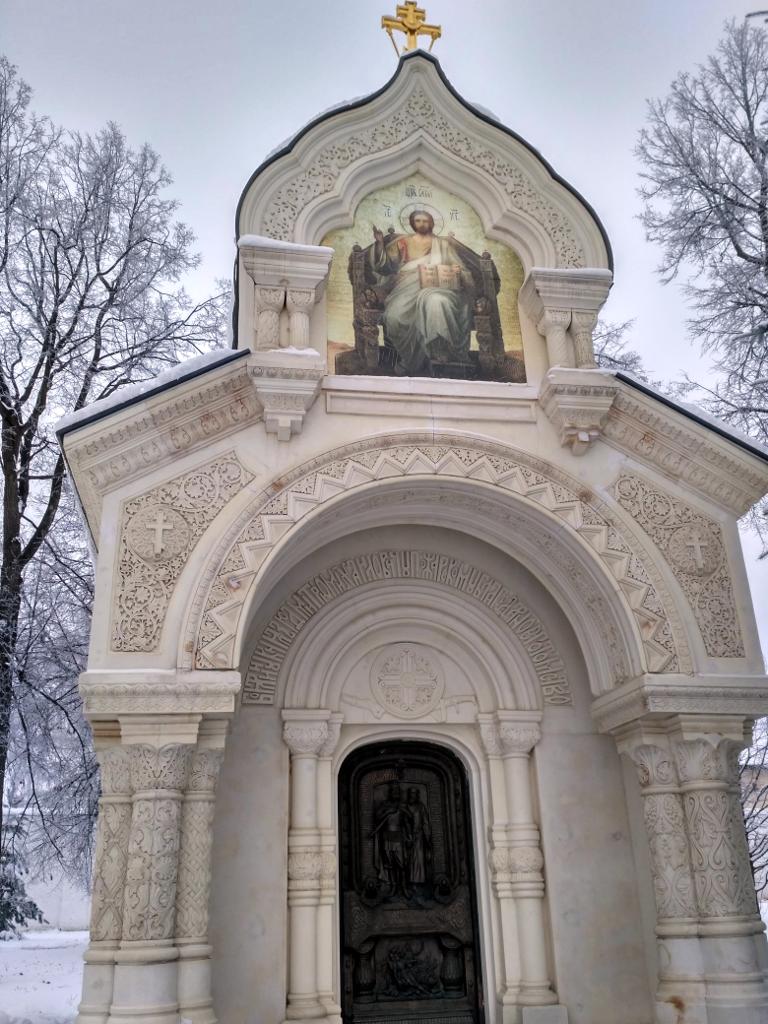 Суздаль. Спасо-Ефимьевский монастырь. Усыпальница князя Дмитрия Пожарского