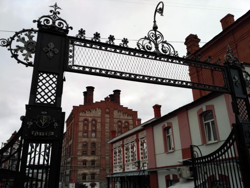 Самара. Ворота Жигулевского пивзавода.