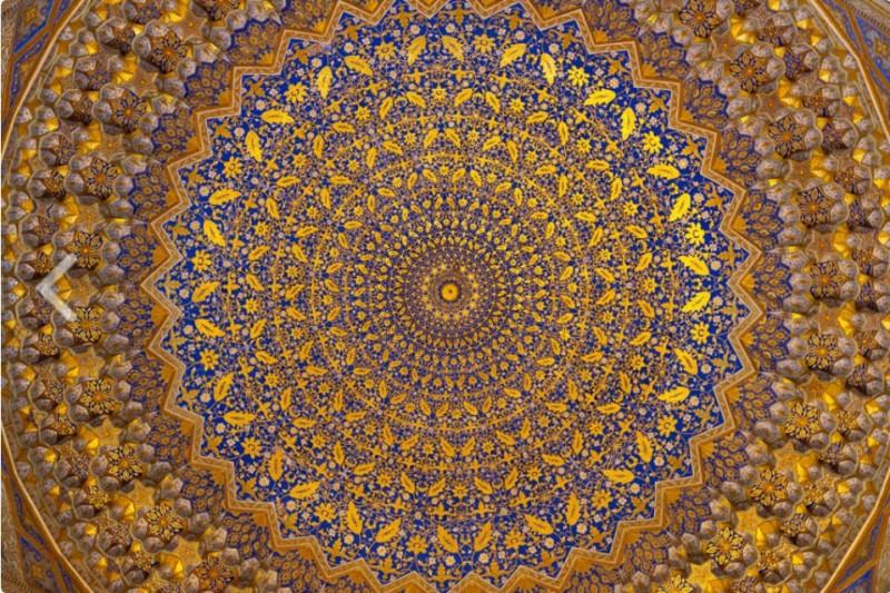 Купол Пятничной («Джума») мечети Тилля Кари. Фото с сайта orexa.com