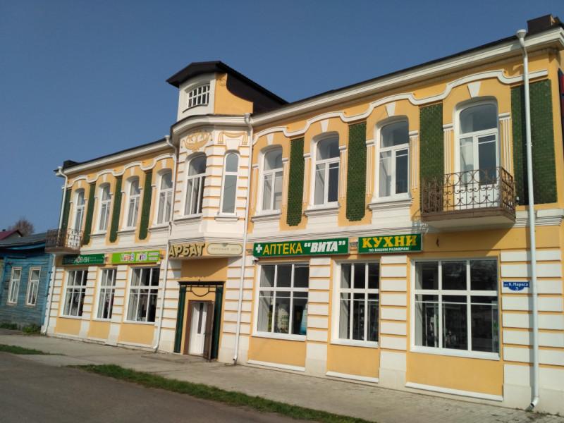 Дом купца Кожевникова. 1911 года рождения, а выглядит как новенький!