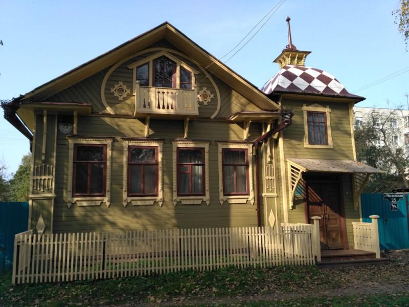 Дом Блинова (1925 г.) – результат трудов Том Сойер Фест Кимры за 2019 год