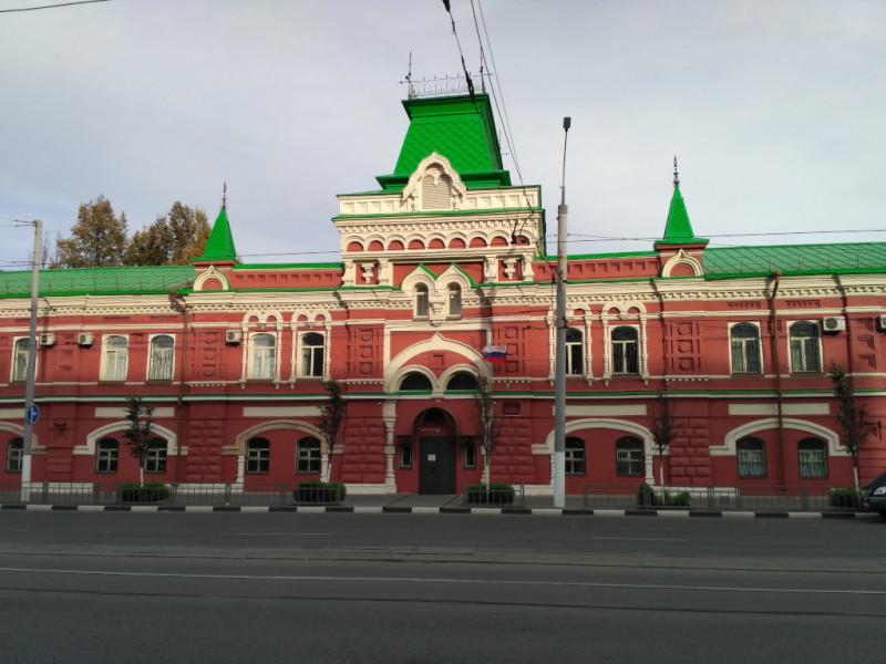 Вот смотрите, какую конфетку сделали из здания Новых торговых рядов (1895-1897 гг.) на Советской улице!