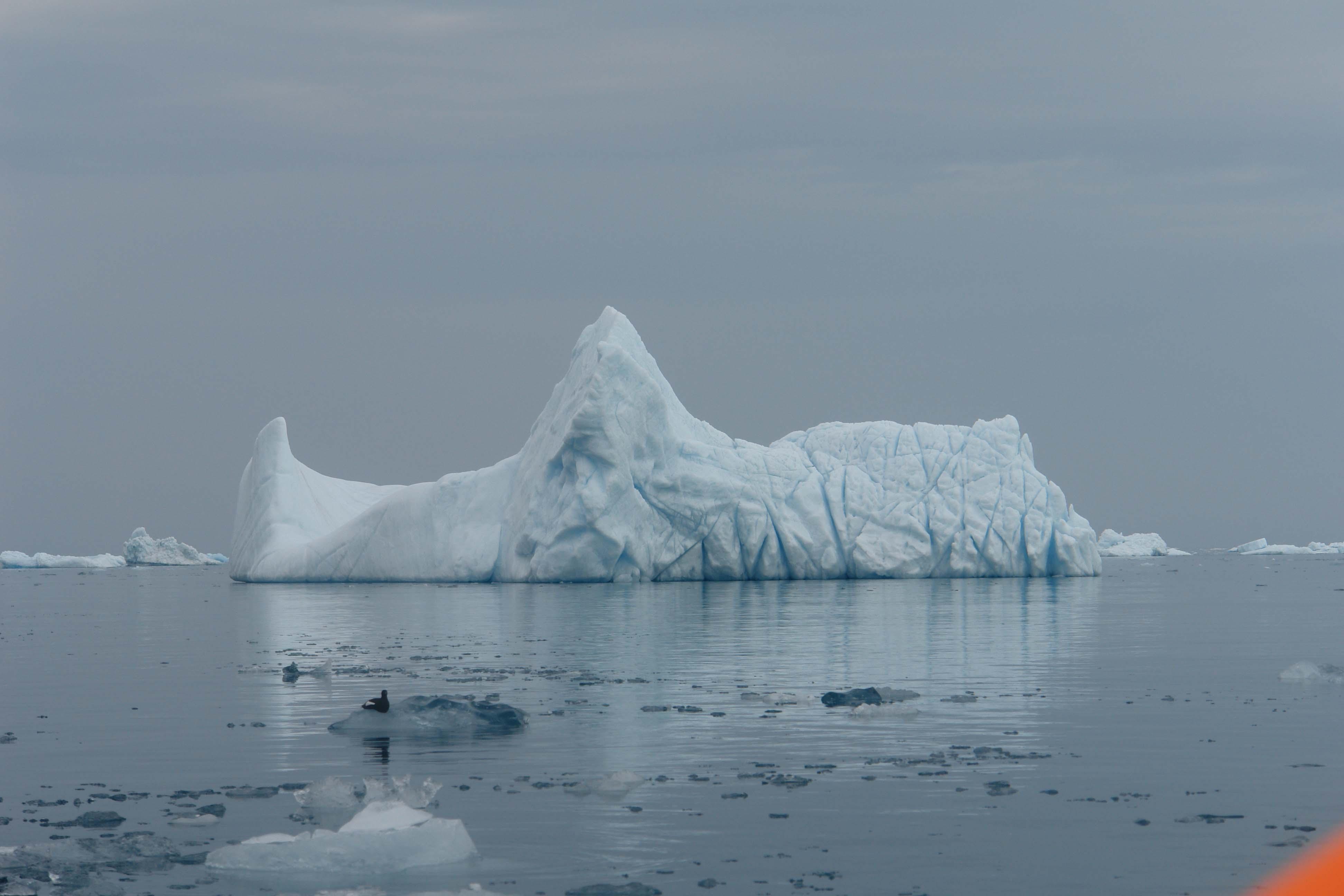 Айсберг у Новой Земли залив Иностранцева