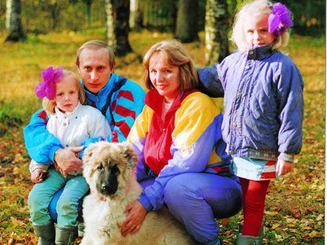 фото внуки путина