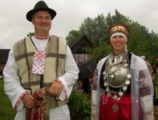 Куклы в народных костюмах №60 Кукла в эстонском девичьем костюме