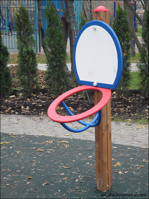 Баскетбольное кольцо своими руками фото