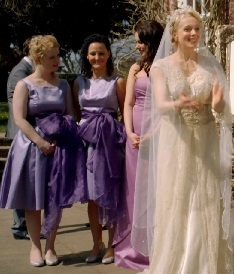 Mary and bridesmaids