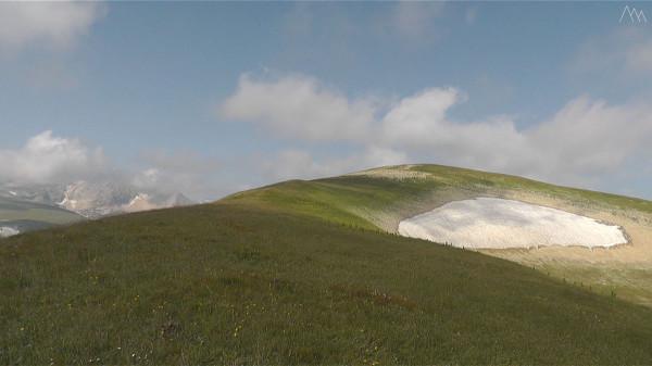 Вид на вершину горы Абадзеш