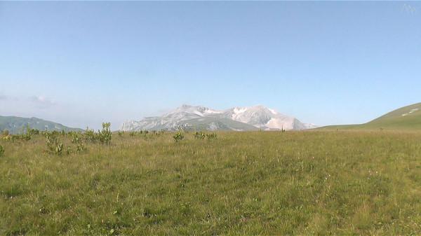 Вид на гору Оштен