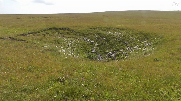 Карстовая воронка на горе Абадзеш
