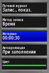 Метод записи Время