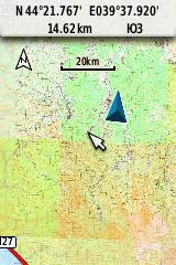Карта 20 км