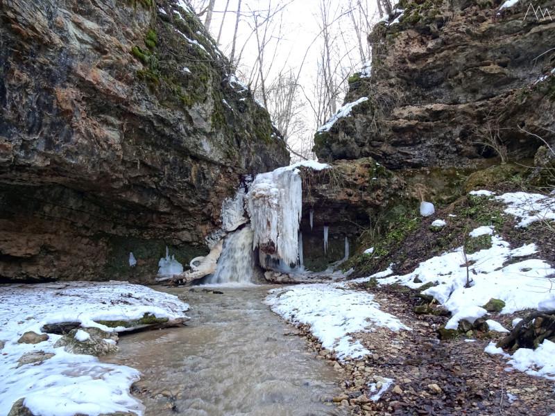 Водопад на ручье Бачурина