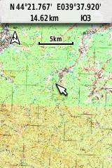 Карта 5 км