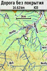 Карта 3 км