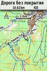 Карта 1.2 км
