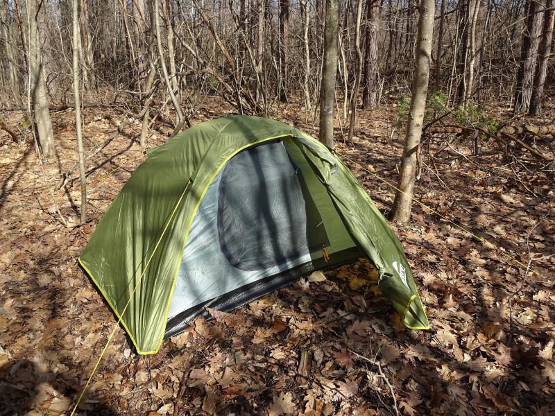 Палатка Трек 2 - открыт тамбур
