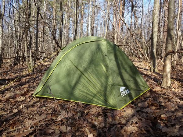 Палатка Трек 2 - обзор и установка