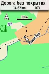Карта 300 м