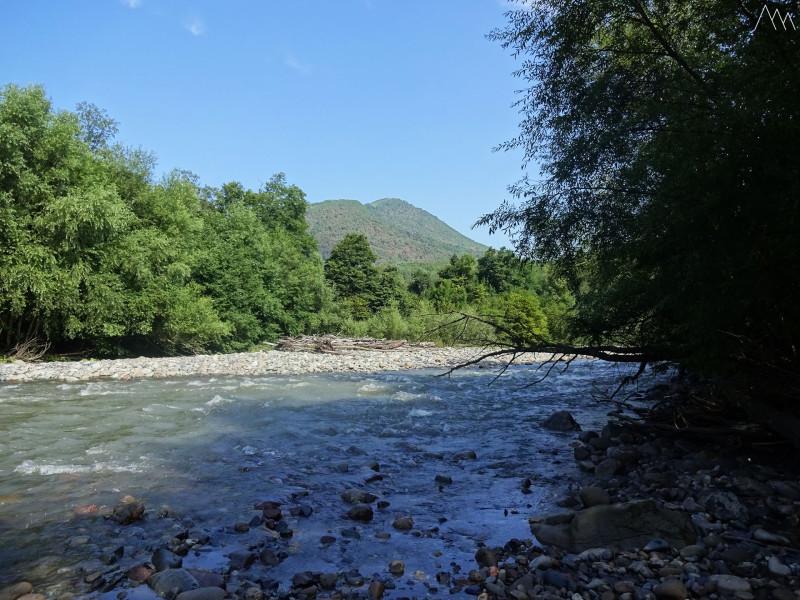 Река Киша возле кордона