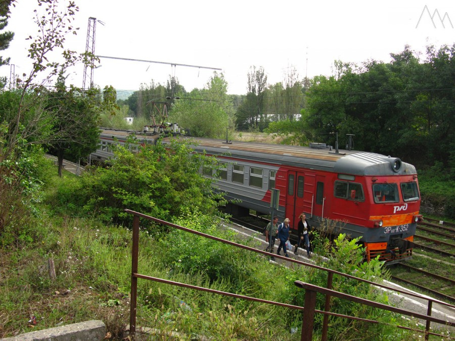 ЖД вокзал Хаджох