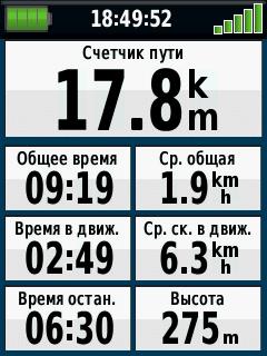 Путевой компьютер Garmin eTrex 30x