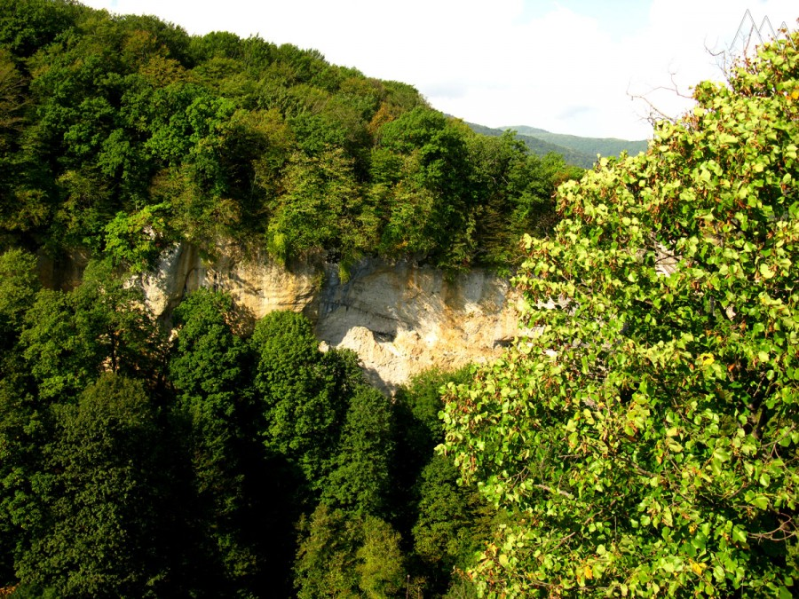 Ущелье реки Мешоко
