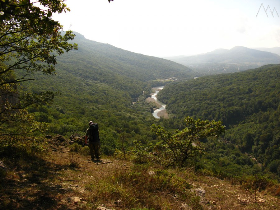Вид на долину реки Белая